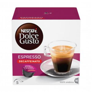 NESCAFÉ® Dolce Gusto® Espresso bez kofeina kava 96g (16 kapsula)