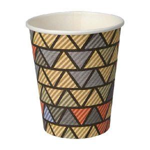 Papirnate čaše za kavu 240ml – ZIG ZAG (50/1)