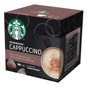 Dolce Gusto STARBUCKS Cappuccino, 12 kapsula/6 napitaka