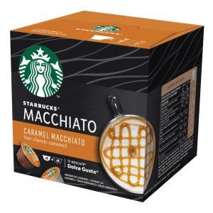 Dolce Gusto STARBUCKS Caramel Macchiato, 12 kapsula/6 napitaka